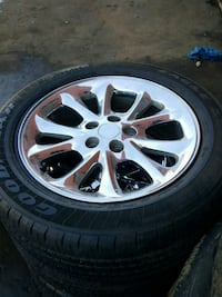 17 inch 5x114 rims and tires Mississauga