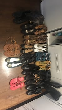 Women's assorted pairs of shoes.. size 10s and worn only once or twice. Price is totally negotiable. Message me for more info. Vancouver, V5T 2A3
