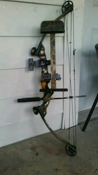 TWO LEFT HANDED COMPOUND BOWS