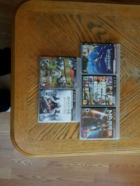 5 PS3 games all in good condition  Kitchener, N2E 1A6