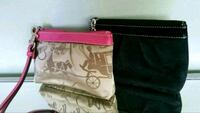 Authentic Coach wristlets