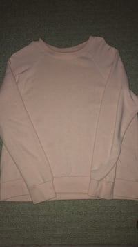 women's pink long-sleeved sweater Edmonton, T6M 0L1