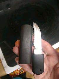 Hand made neck knife