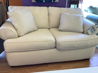 New Cream Love Seat by Klaussner