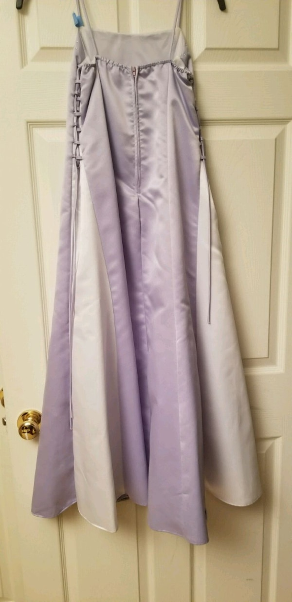 Gorgeous Lilac Rhinestone Dress Brand Marshmallow  3