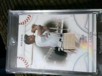 Hank aaron bat card