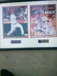 2012 Mike Trout collectors picture Riverside, 92503