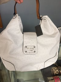 white Guess ostrich-leather hobo bag Toronto, M9N 1V8