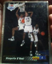 Shaquille O'Neal trading card