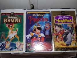 DISNEY *ANNIVERSARY ISSUE EDITION* VHS Tapes   $15