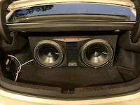 Rockford fosgate subwoofers and Memphis audio amp