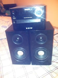 Phillips Bluetooth CD Player and plays the Radio Batesville