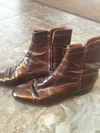pair of brown leather boots St Thomas, N5R 0A4