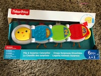 Fisher price flip and surprise caterpillar (The exterior package is damaged but inside its perfect)