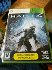 Halo 4 Xbox 360 game case 619 km