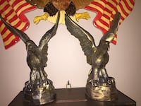 Brass American Eagle Toppers Stafford, 22556