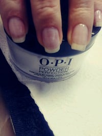 Manicure w/dipping powder  licensed Cosmetologist  Grand Ledge
