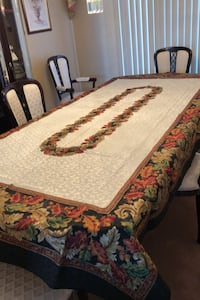 Tablecloth for fall