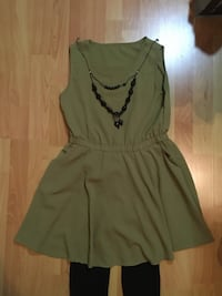 Green dress size S VANCOUVER