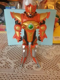 power ranger orange and gold robot action figure Silver Spring, 20906