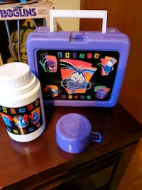 (Retro)Looney Tunes lunch box thermos