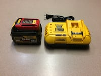 yellow and black Dewalt power tool battery charger Chesapeake, 23321
