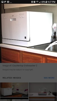 I'm looking for a counter top dishwasher Nanaimo, V9S 5G1