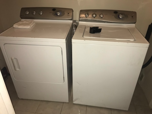 Ge Profile Washer And Dryer Set