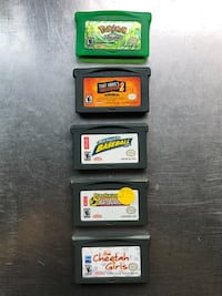 Lot Of 5 GameBoy Advance Games