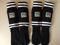 2 x Child Soccer Socks with Built-in Shin Guards- Size Peewee Edmonton, T6X 0A8