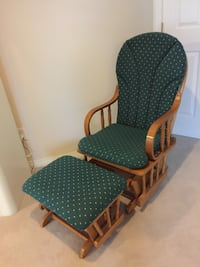 Rocking chair and ottoman  Surrey, V3S 8S4