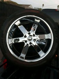 22's with brand new tires Compton, 90221