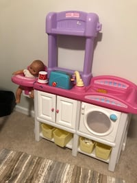 Kids kitchen and baby play centers