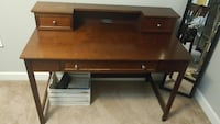 brown wooden computer desk Thomasville, 27360