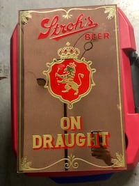 Strohs Beer Mirror sign