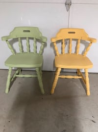 Adorable Set of Antique Chairs Zorra, N5C 3J5