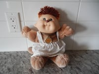 "1983 Cabbage Patch Koosa Doll ""Scatrina"". She does have some surface marks (on her face) $25 PU Morinville Morinville"
