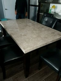Marble Dining table Toronto, M8Y 3C9
