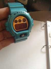 Blue casio g-shock round digital watch Pawtucket, 02860