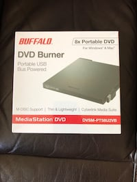 Buffalo 8x Portable USB DVD Burner for Windows and Mac... Brand New n Sealed!!! El Paso, 79938