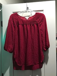 Size M Lc top worn few time perfect for fall color  Boyds, 20871