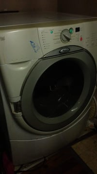 white front-load clothes dryer Silver Creek, 30173