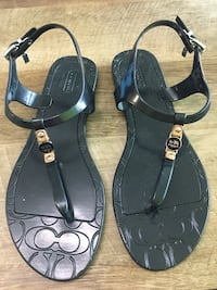 Authentic  New Coach sandals