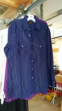 Mens dress shirt Calgary, T3H 2W1