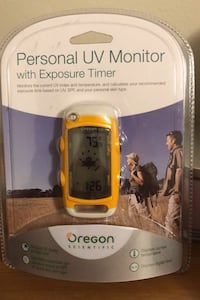 Oregon Personal UV Monitor With Exposure Timer Toronto, M3M 1G8