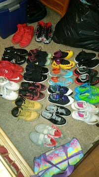 assorted-color shoe lot Winchester, 22603