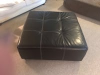 Black leather tufted ottoman chair Gainesville, 20155