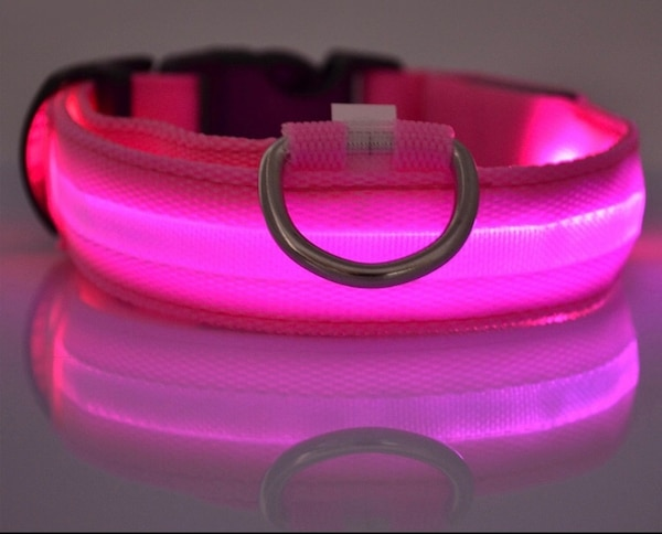 Led dog collar S/M ]Free Shipping]