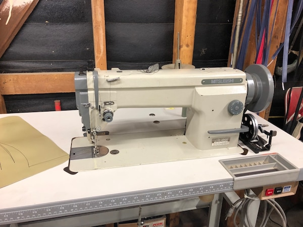 Used Mitsubishi LY4040 Industrial Walking Foot Sewing Machine For Fascinating Mitsubishi Sewing Machine For Sale