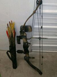 black and brown compound bow and quaver Ormond Beach, 32174